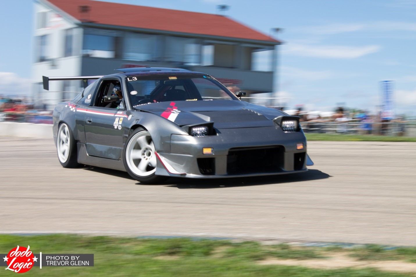 It was nice to get out on the track and get some better shots. Another fine example of a car with exquisite styling is Josh's 180sx, sporting the full KOGUCHI look, as well as the front bumper!