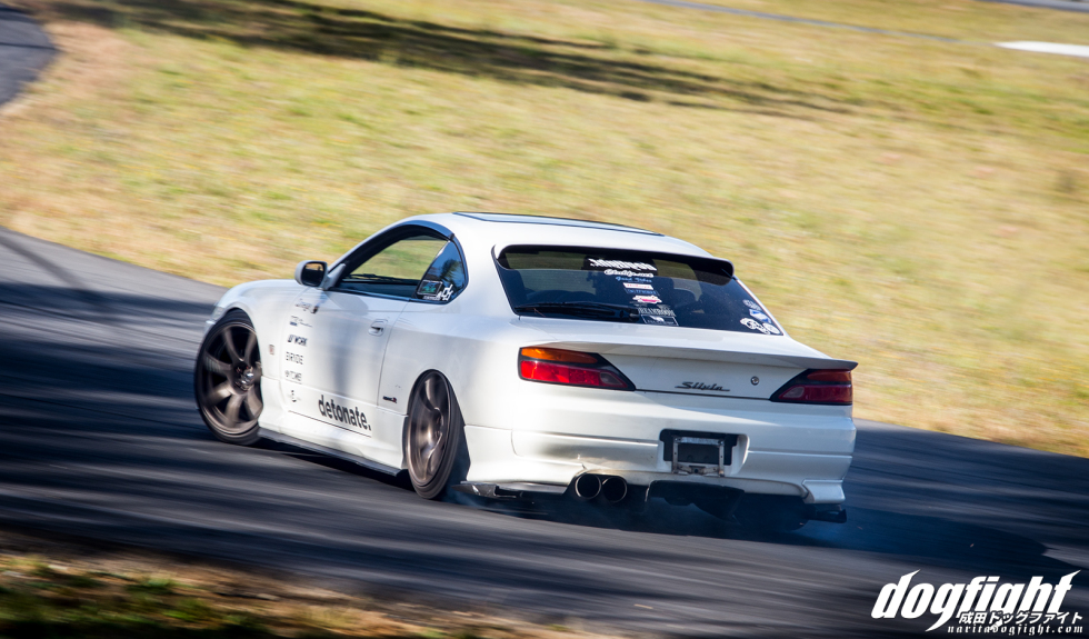 Mr. Martino's S15 looked great all day, although I'm not sure what team he was driving on or if he was just there for the chance to drive Cannan.