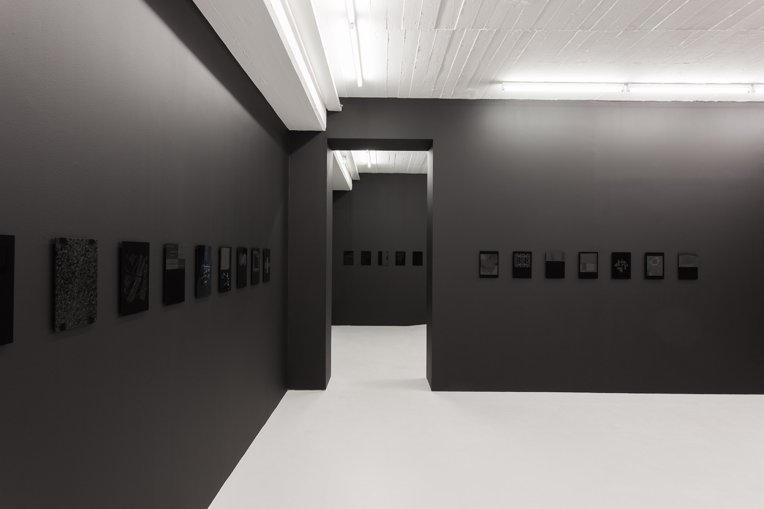 Black Letters ,installation view Elastic Gallery, Stockholm,2014