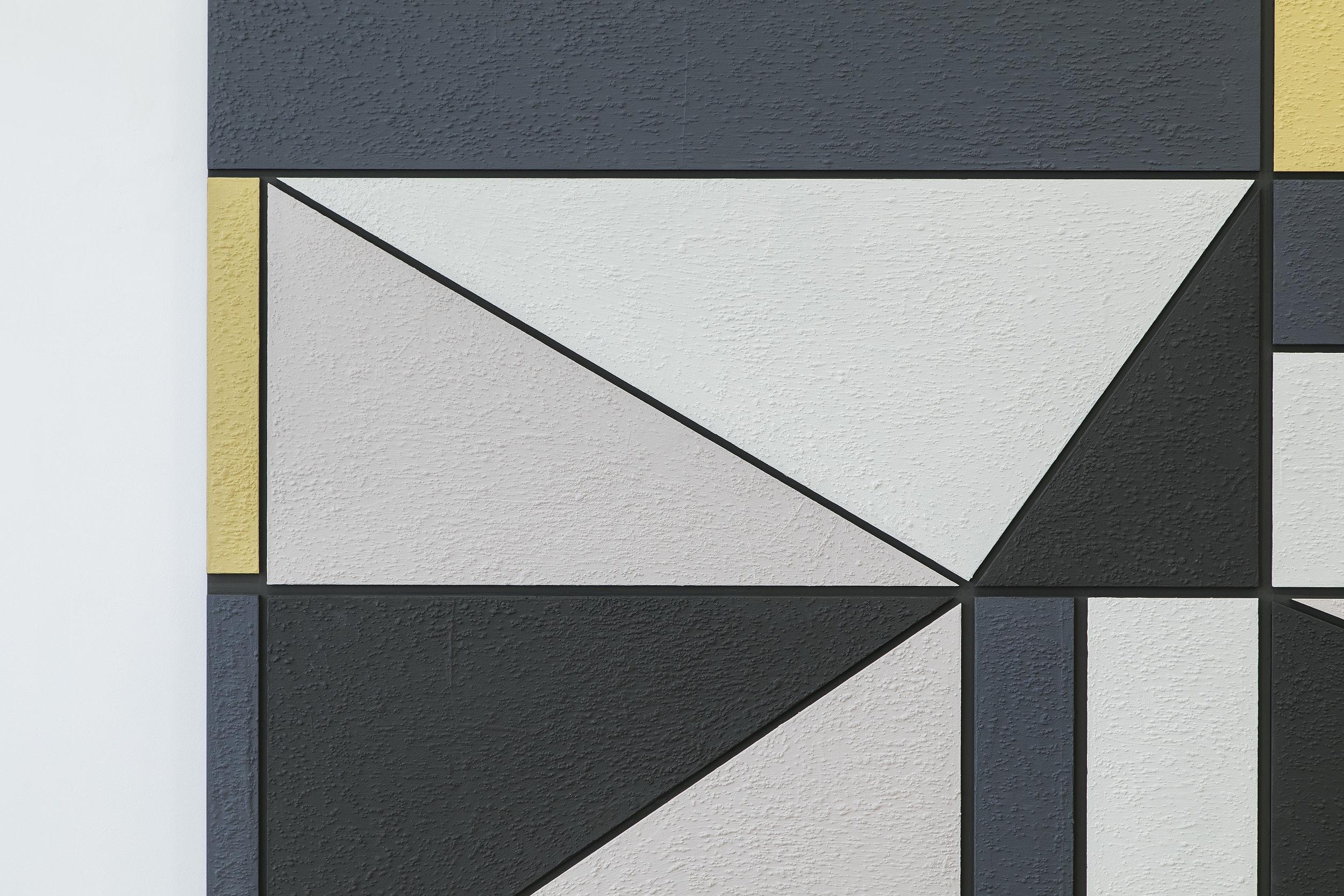 Completed Facade ( Mural for Gunnar S. Gundersen )  Detail
