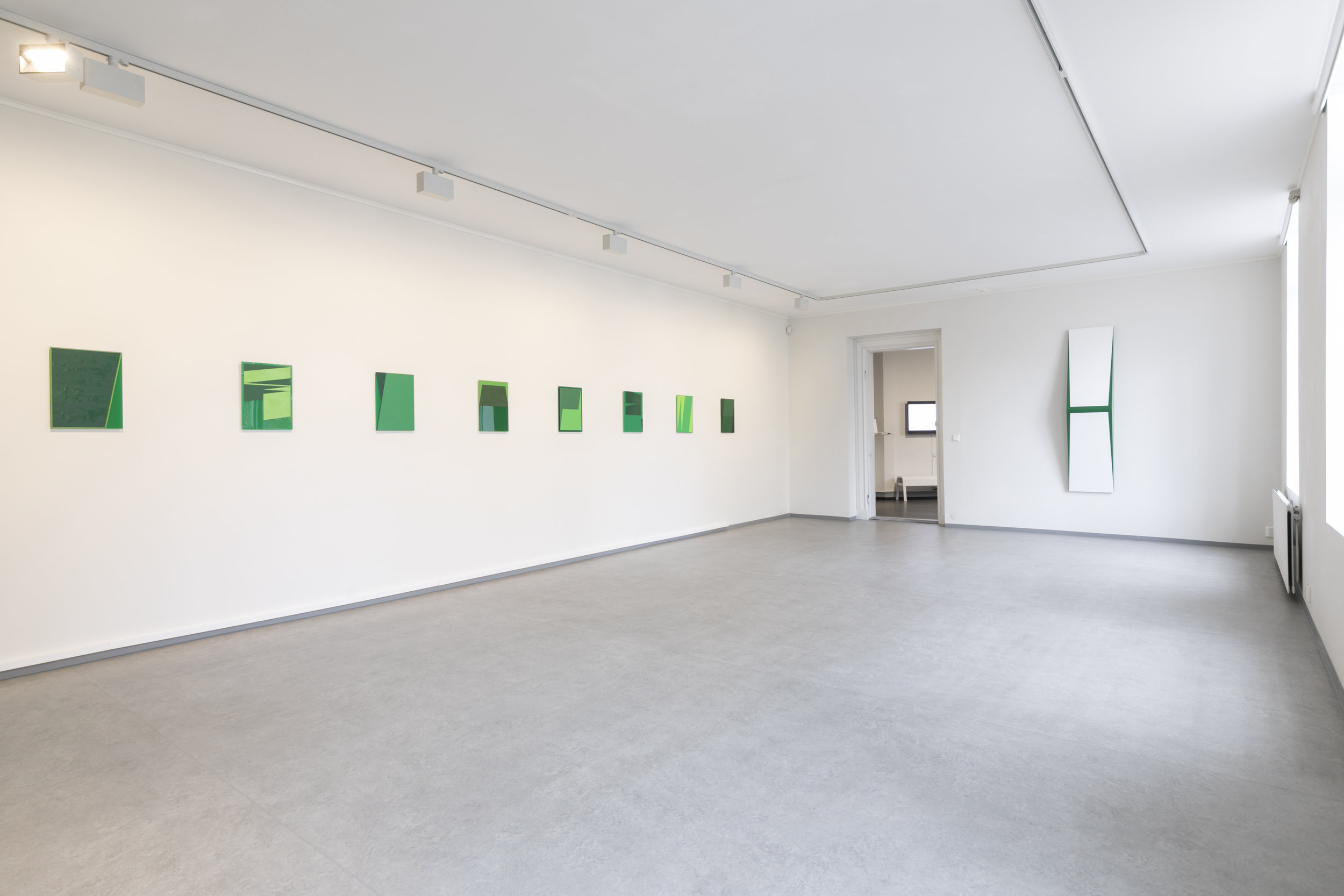 The Green Series  and  Untitled (H)