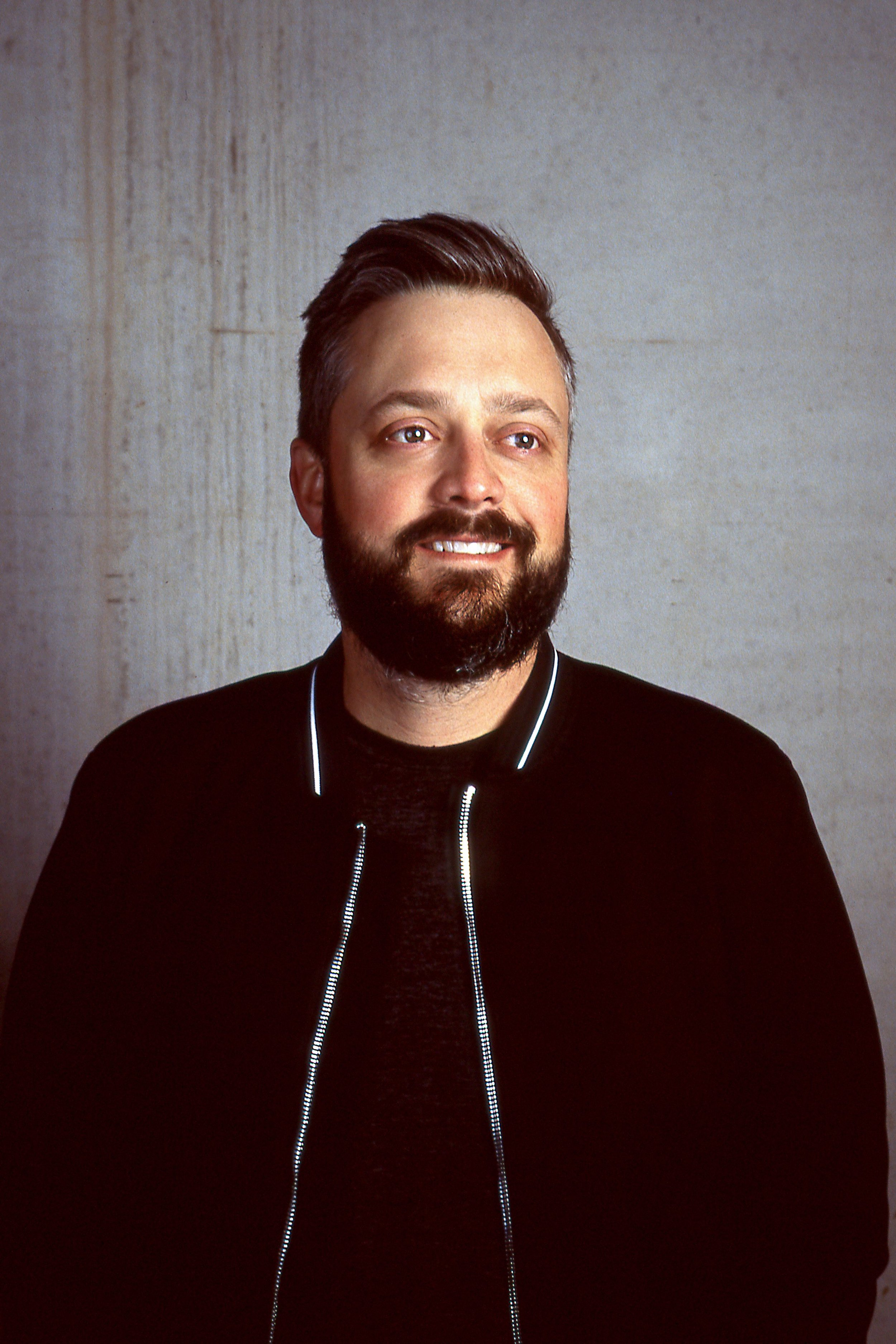 Comedian Nate Bargatze / Matt Pittman / Huntsville, AL / Kodak Ektachrome / Leica M7 / Paul C. Buff Lighting