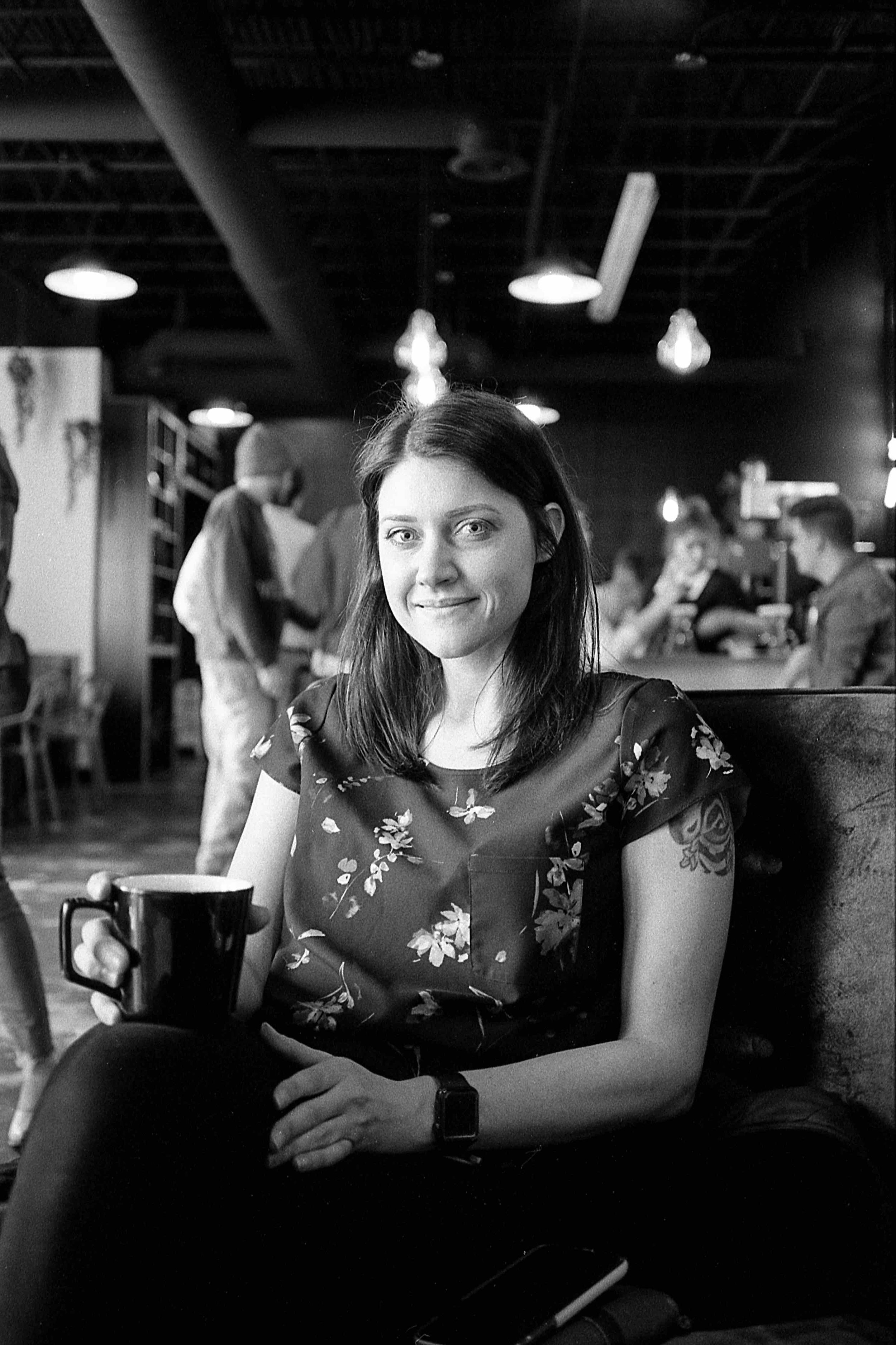 Matt Pittman / Huntsville, AL / Offbeat Coffee Studio / Ilford HP5 / Leica M7 / Street Photography / Portraits