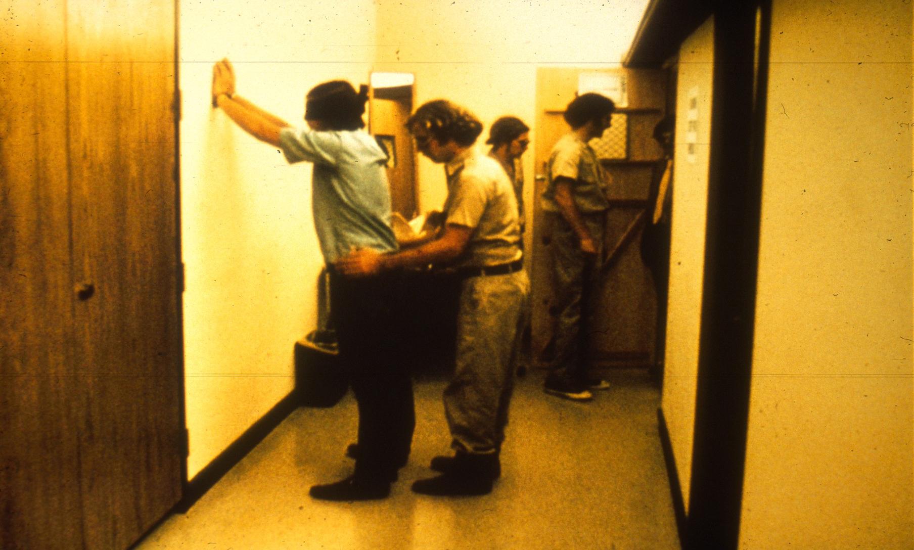 Frisking a Prisoner
