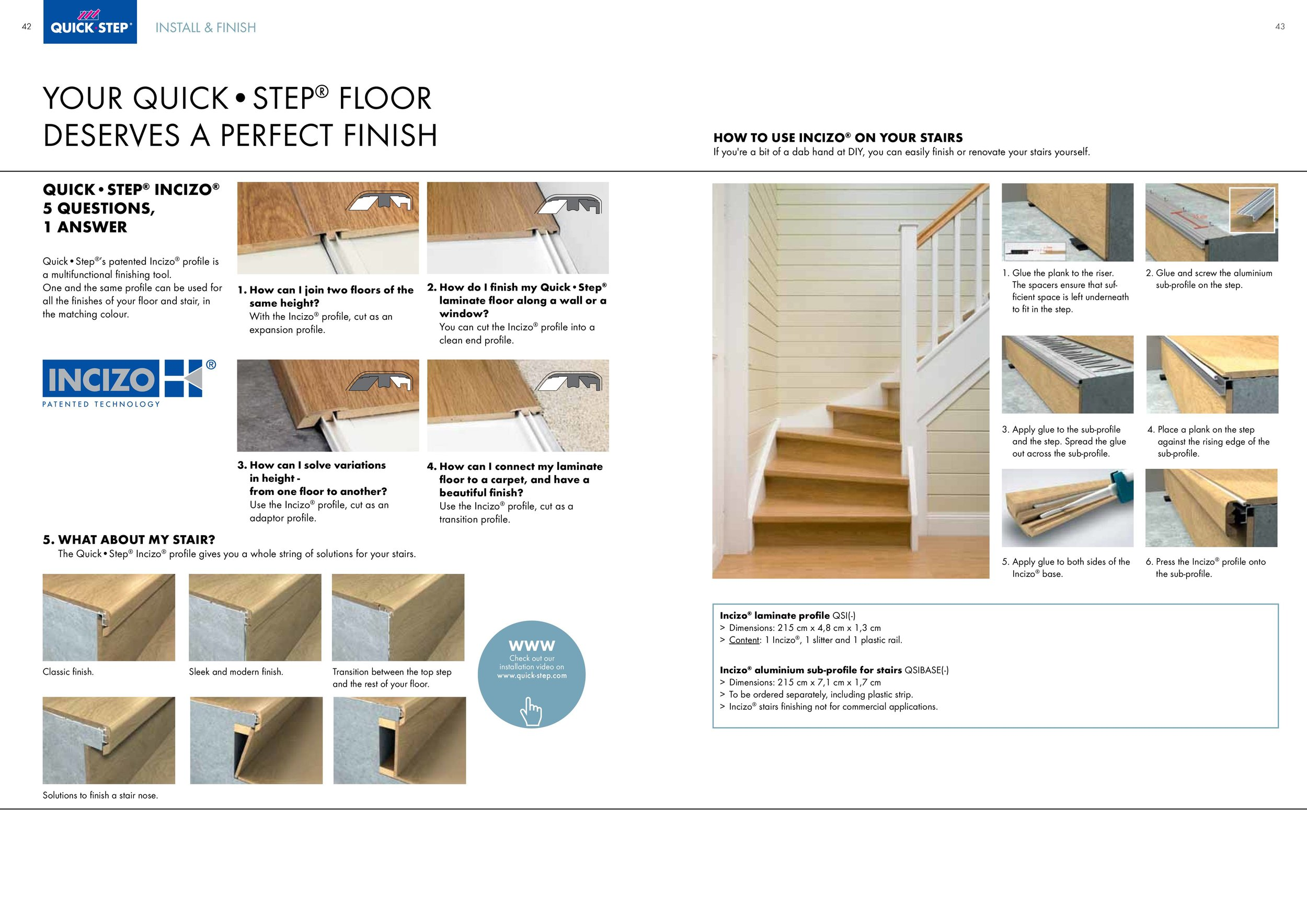Quick-Step stair renovation Dublin