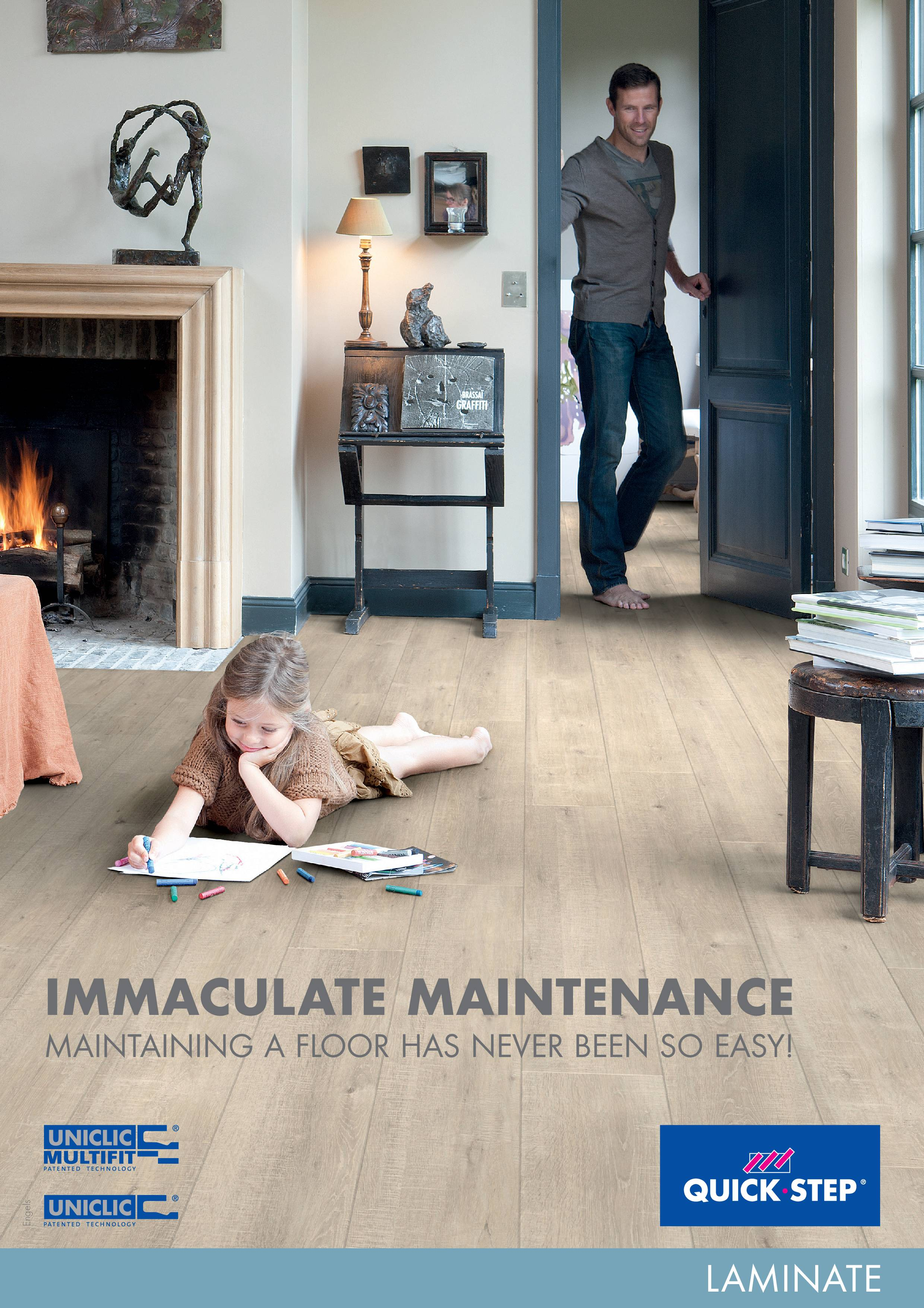 Quick-Step LAMINATE FLOOR CLEANING GUIDE