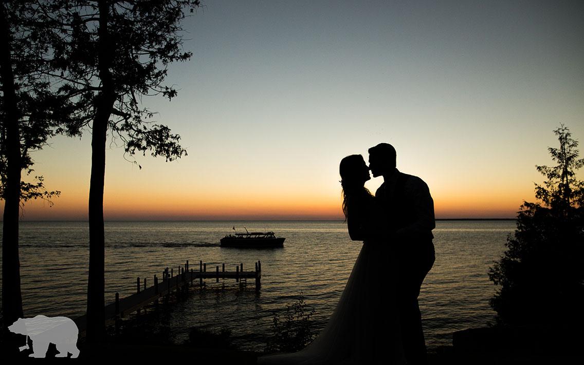 Door County Wedding Photographers picturesque evening!