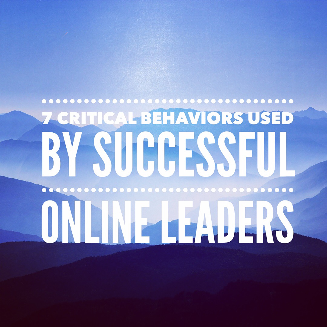 7 Critical Behaviors Used