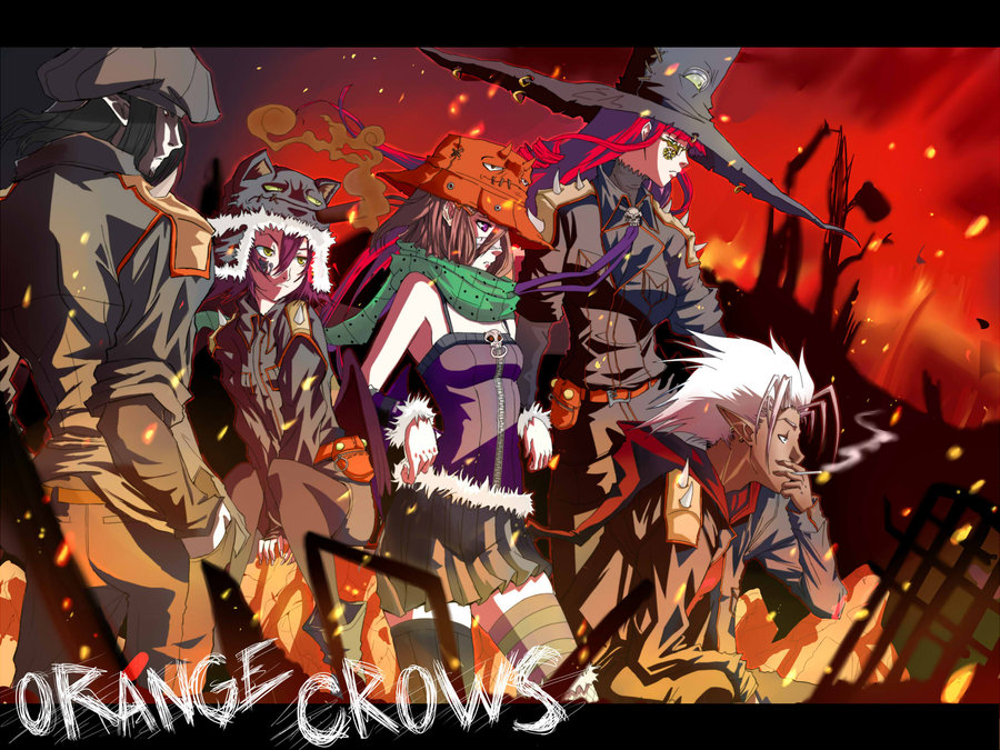 Orange_Crows_Assembled_by_gustredcloude