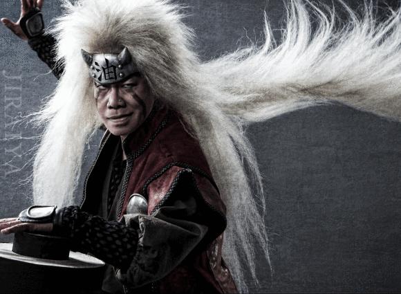 … Yoshiaki Umegaki as Jiraiya…