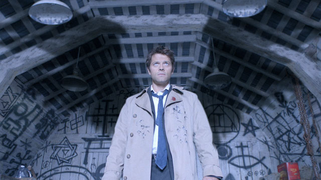 Misha Collins as you usually see him...