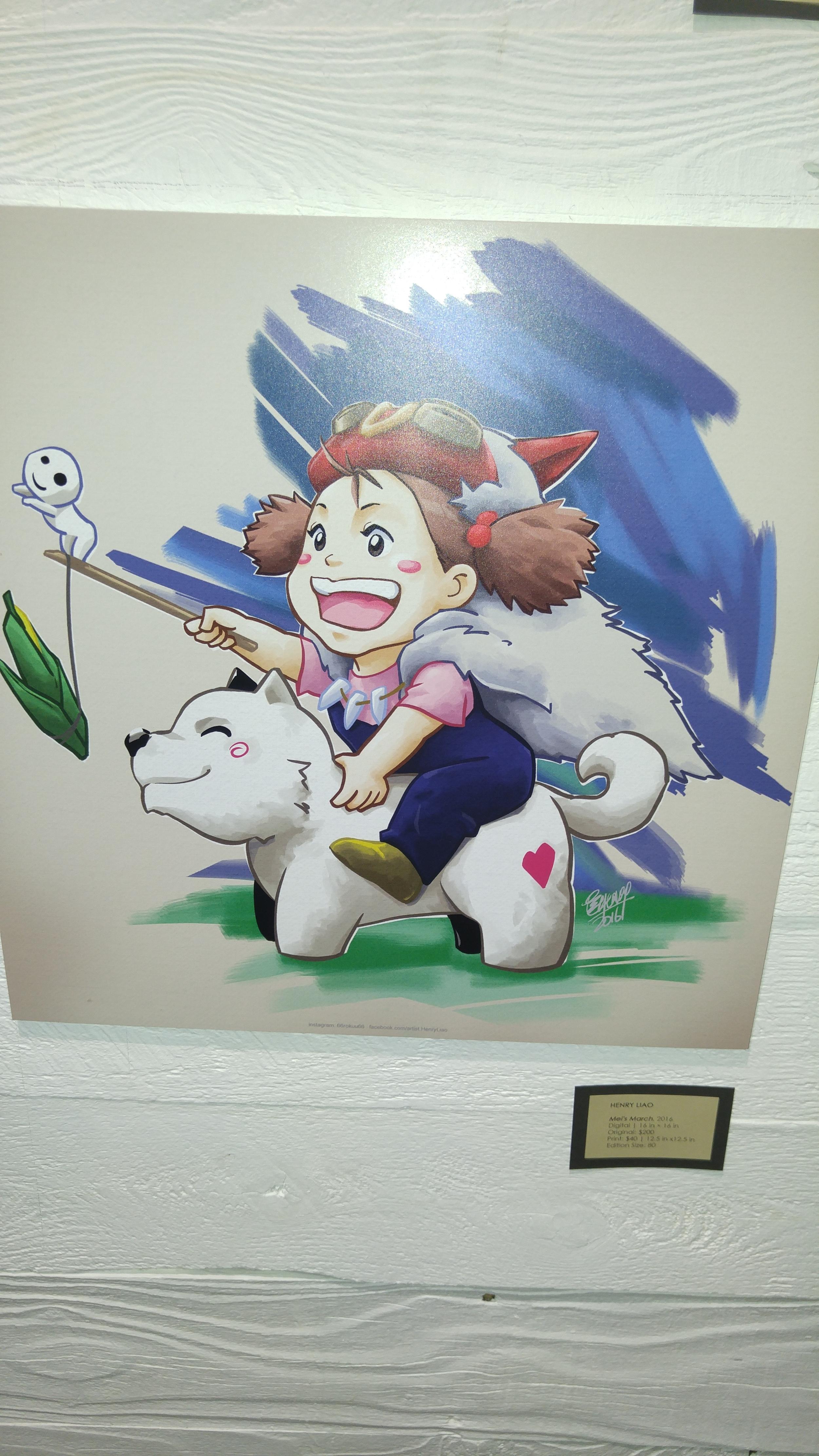A Miyazaki mashup...