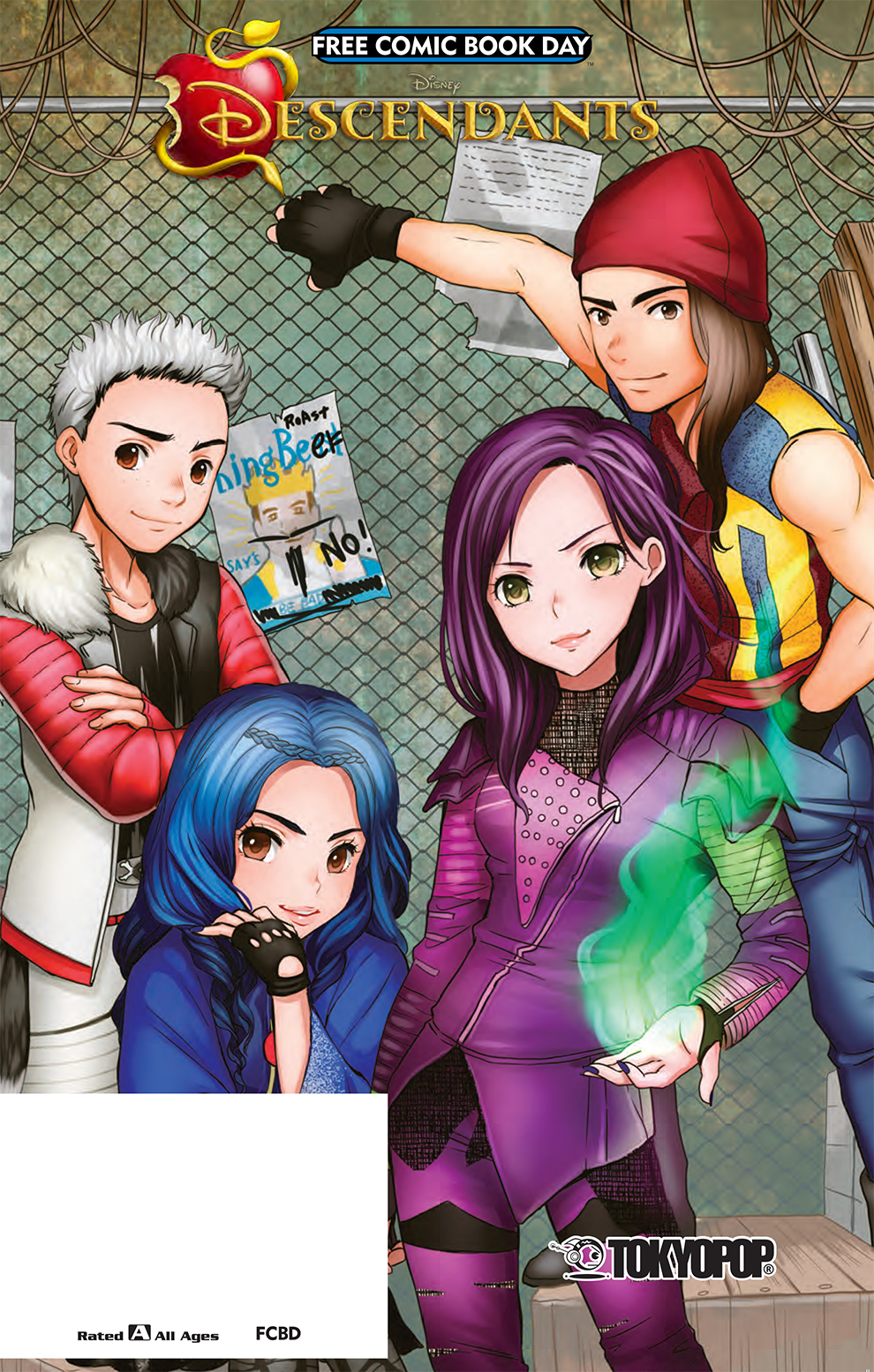 DisneyMangaDescendants