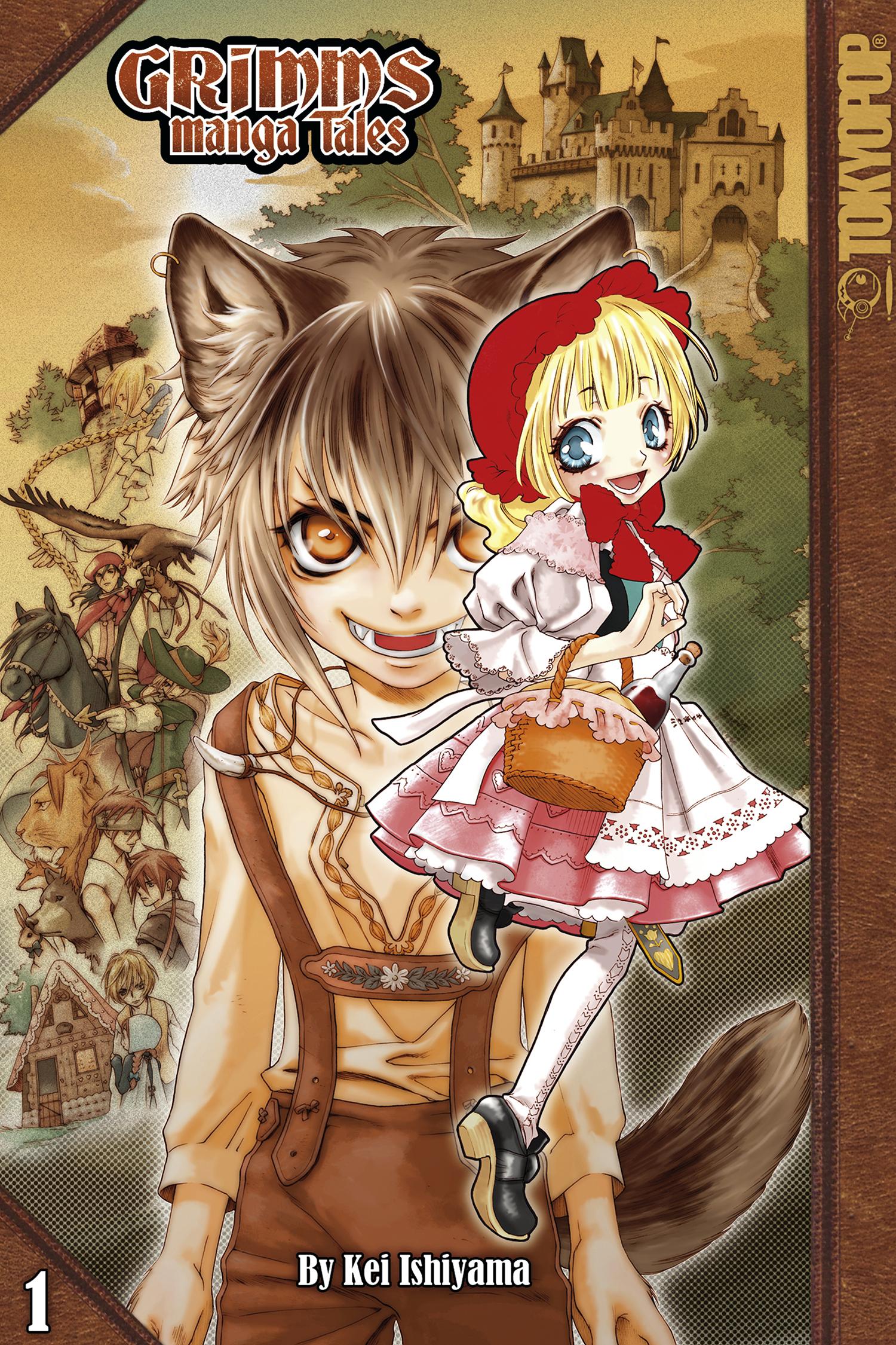 Grimms Manga Tales, Vol. 1 (ebook version)