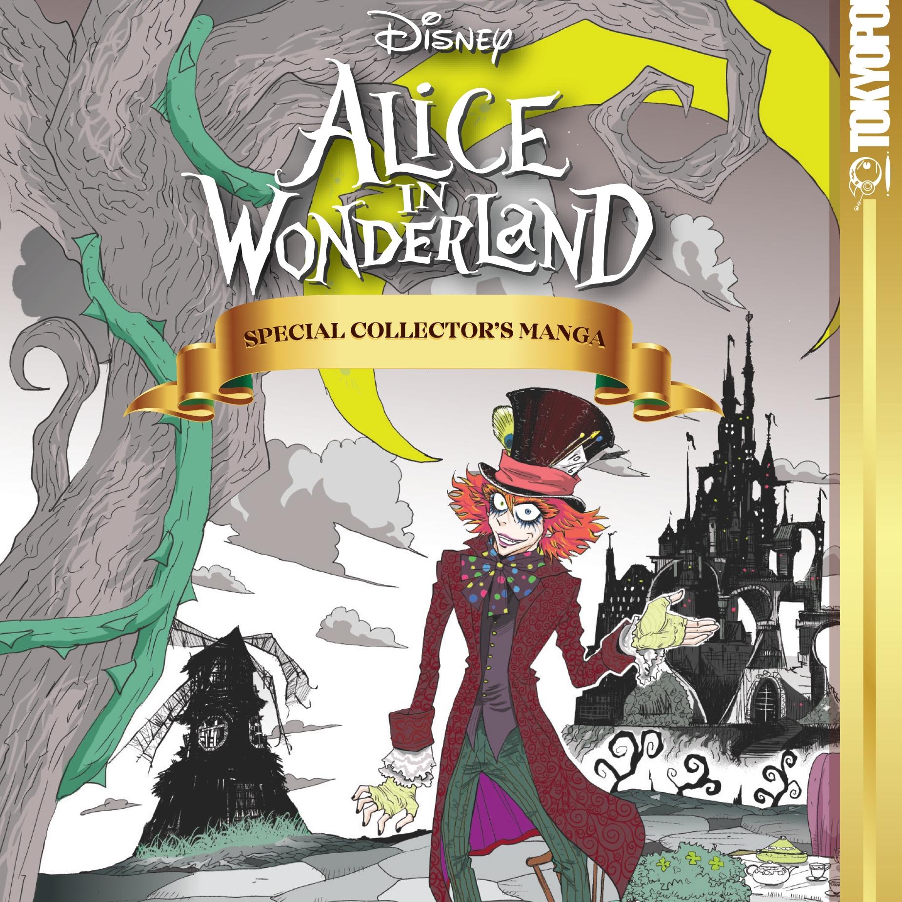 TOKYOPOP Releasing 'Collector's Manga' For 'Alice In Wonderland' & 'Finding Nemo'