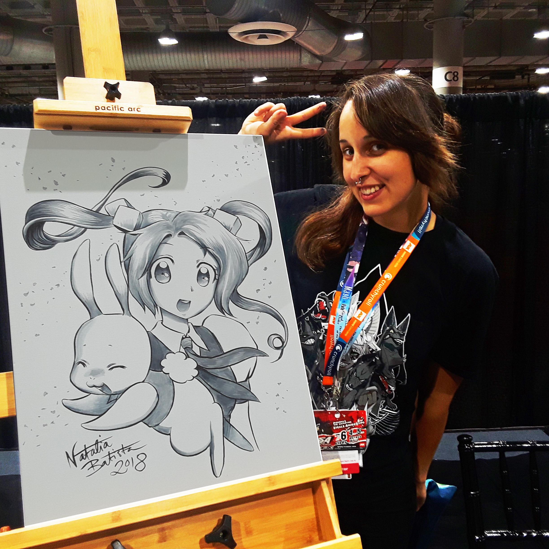 Swedish Manga Artist Uses Princess Power