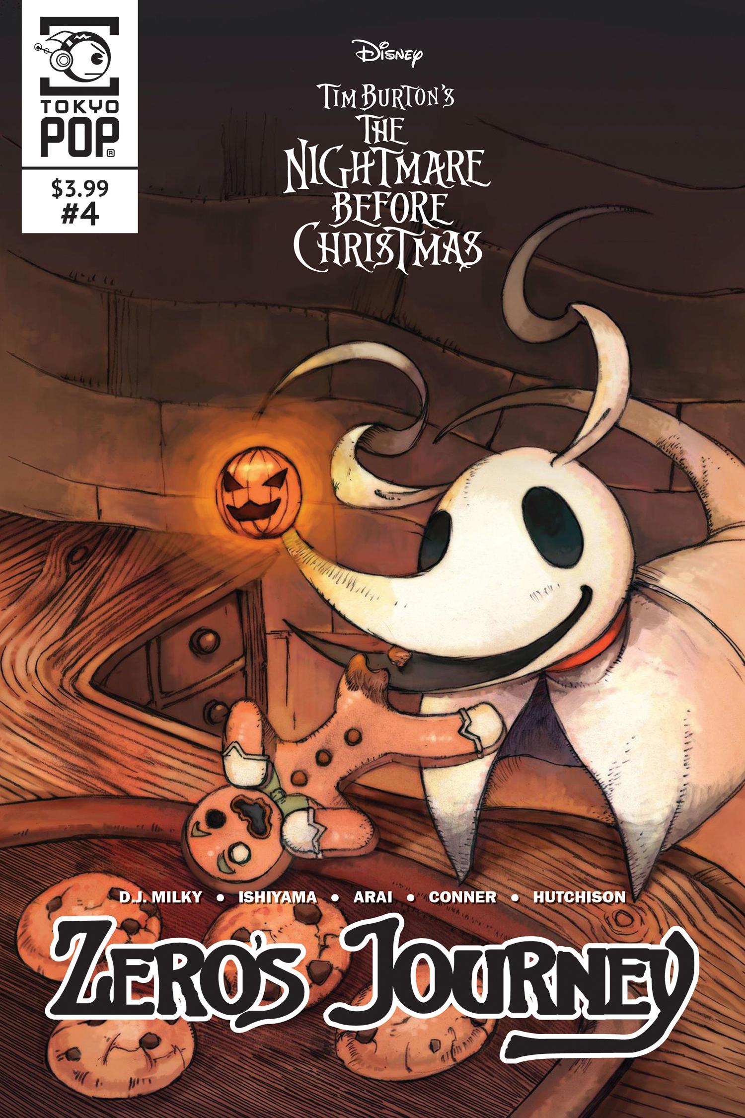 1st EVER NBX Sequel~ NIGHTMARE BEFORE CHRISTMAS Zero/'s Journey COMIC # 0 RARE