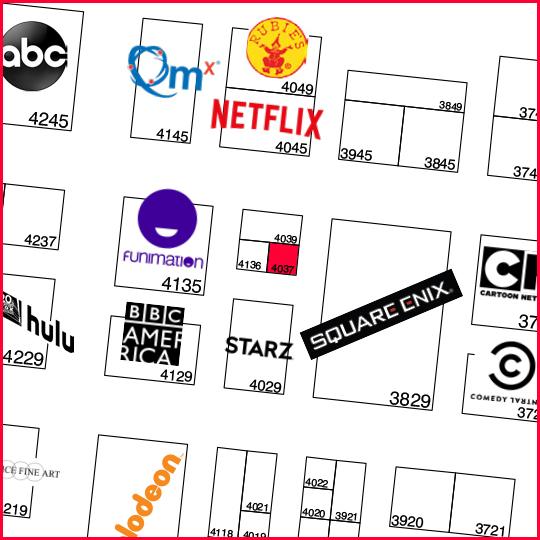 Booth #4037 - Come meet Team TOKYOPOP!