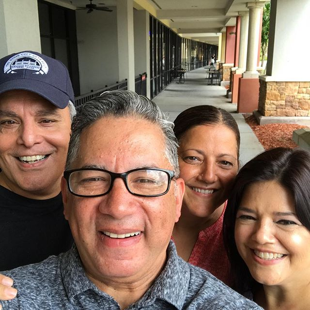 Great sharing life with old friends from NJ! Pastors Angel & Mirna Madera!