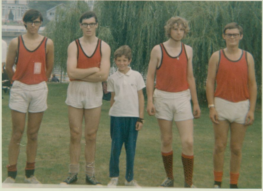 UWBC 1969 (No.6) - Andy Greenwell 2nd from right