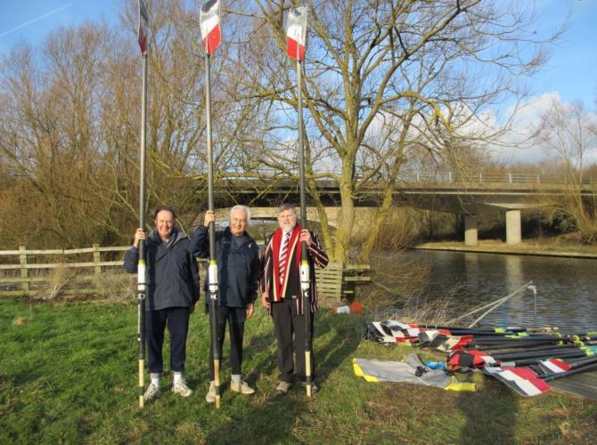 John Fawthrop, Godfrey Bishop & Andy Greenwell