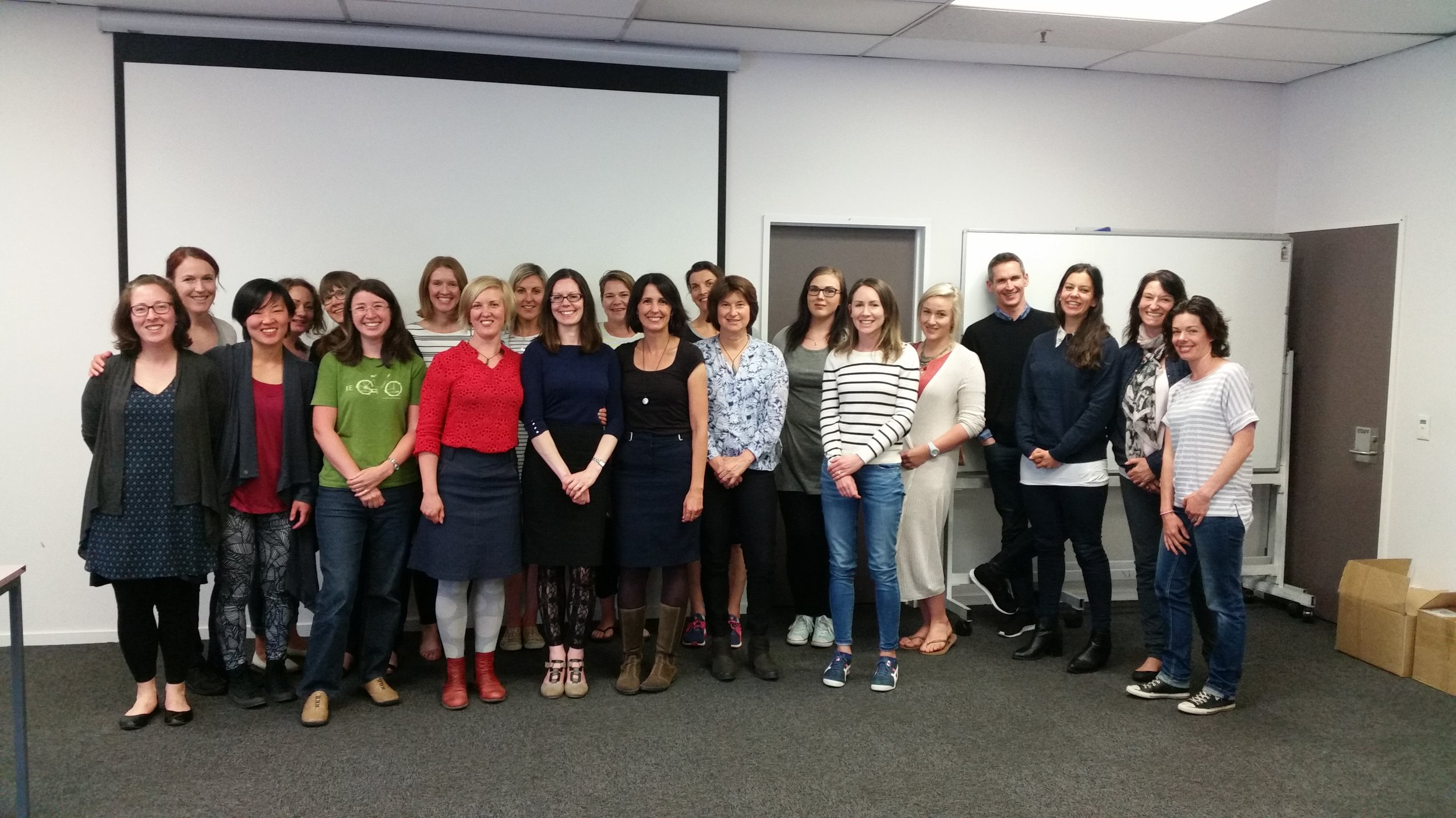 With co-presenters' Dr Anastasia Boulais, Dr Lara Briden and the lovely attendees.        (Photo Credit: Jamie Scott).