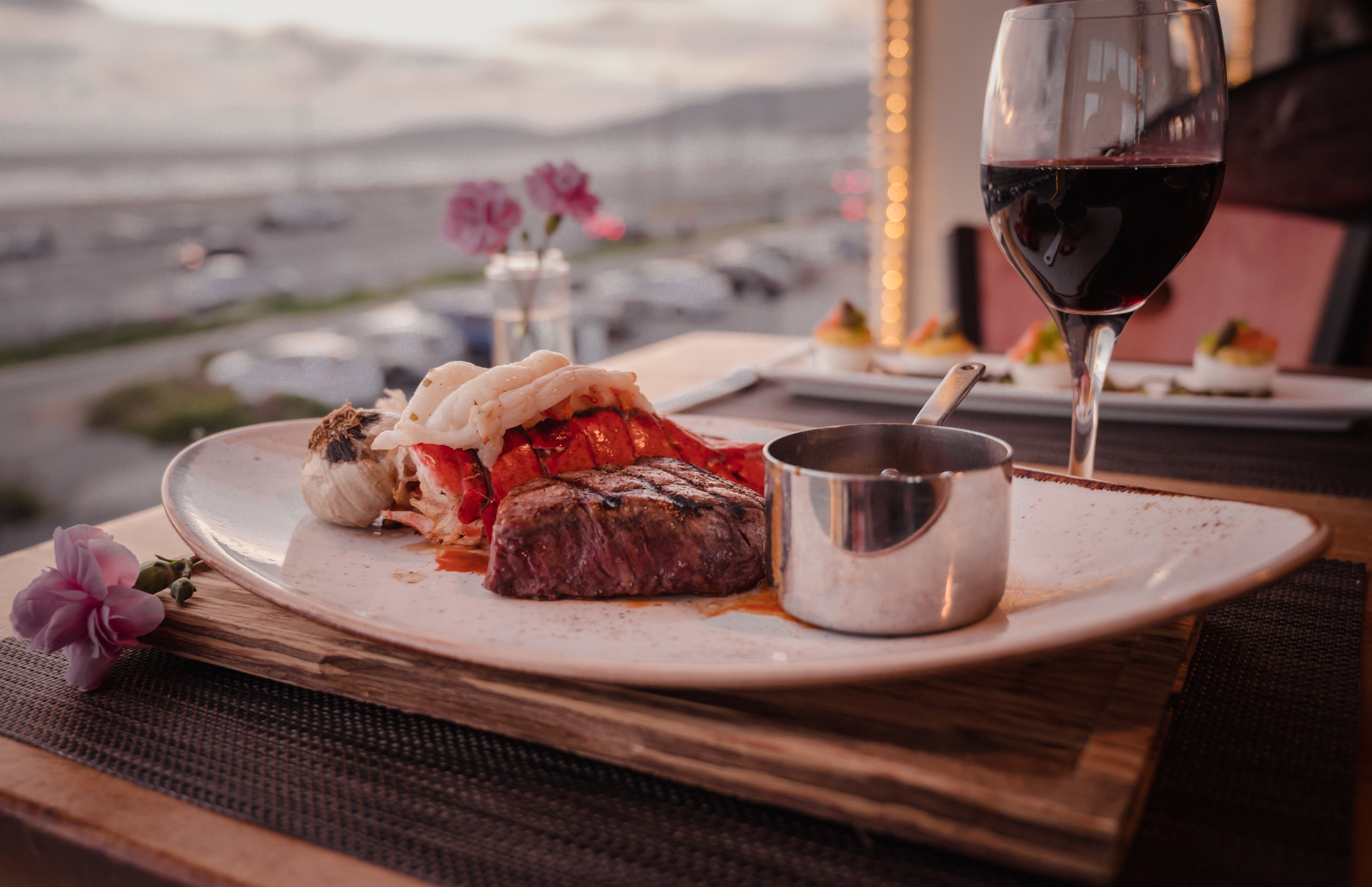 Lobster and Filet Mignon - Beach Chalet