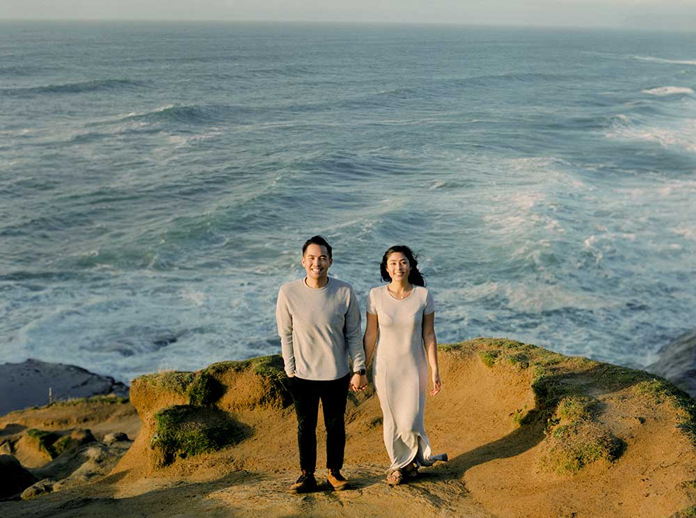 Cape Kiwanda Engagement Photos by Outlive Creative