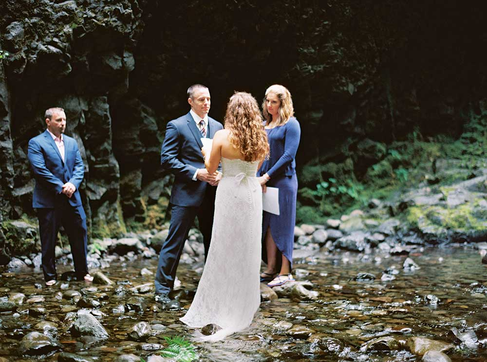 Oneonta Gorge Elopement