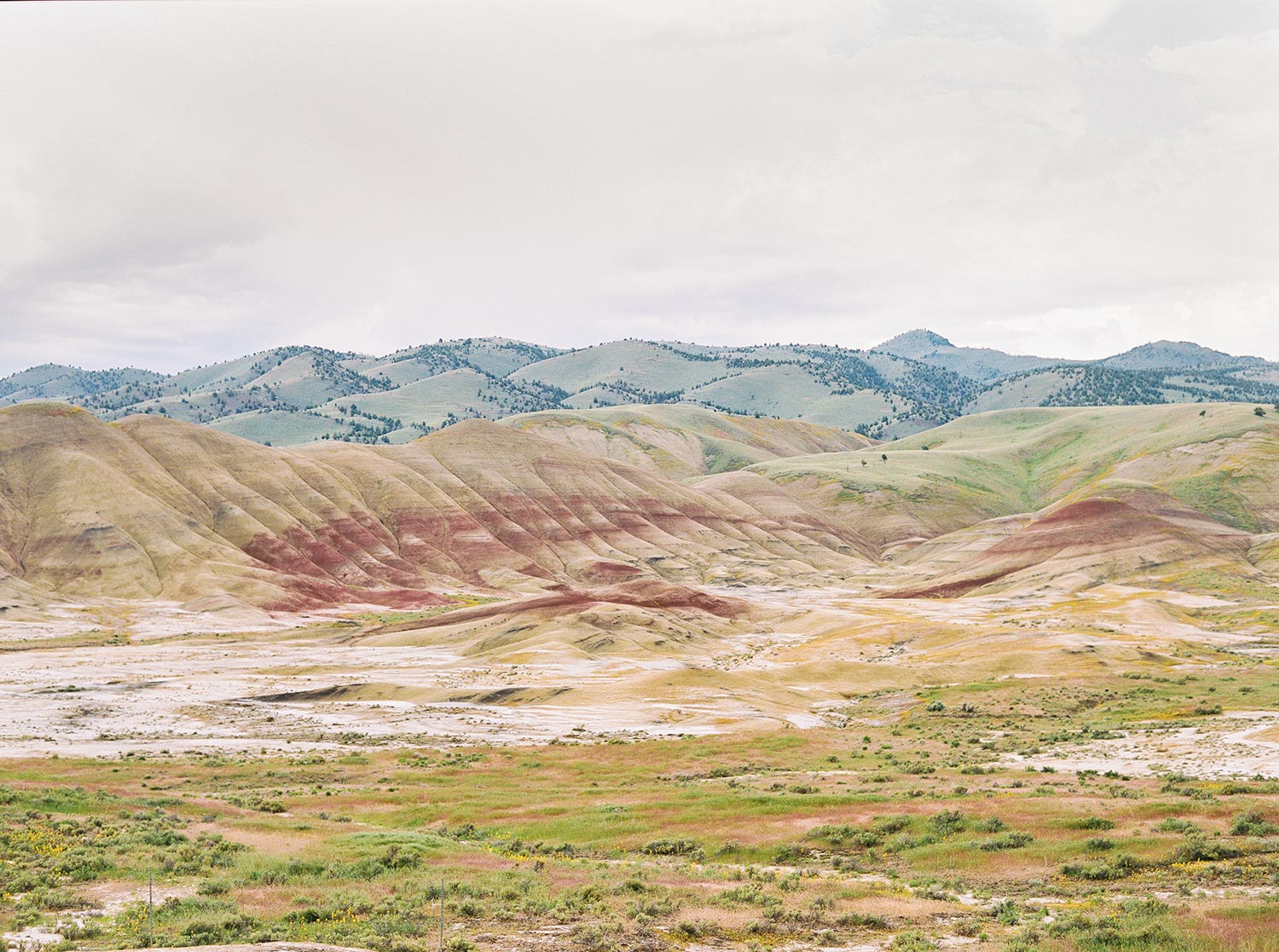 Painted Hills Oregon by Outlive Creative