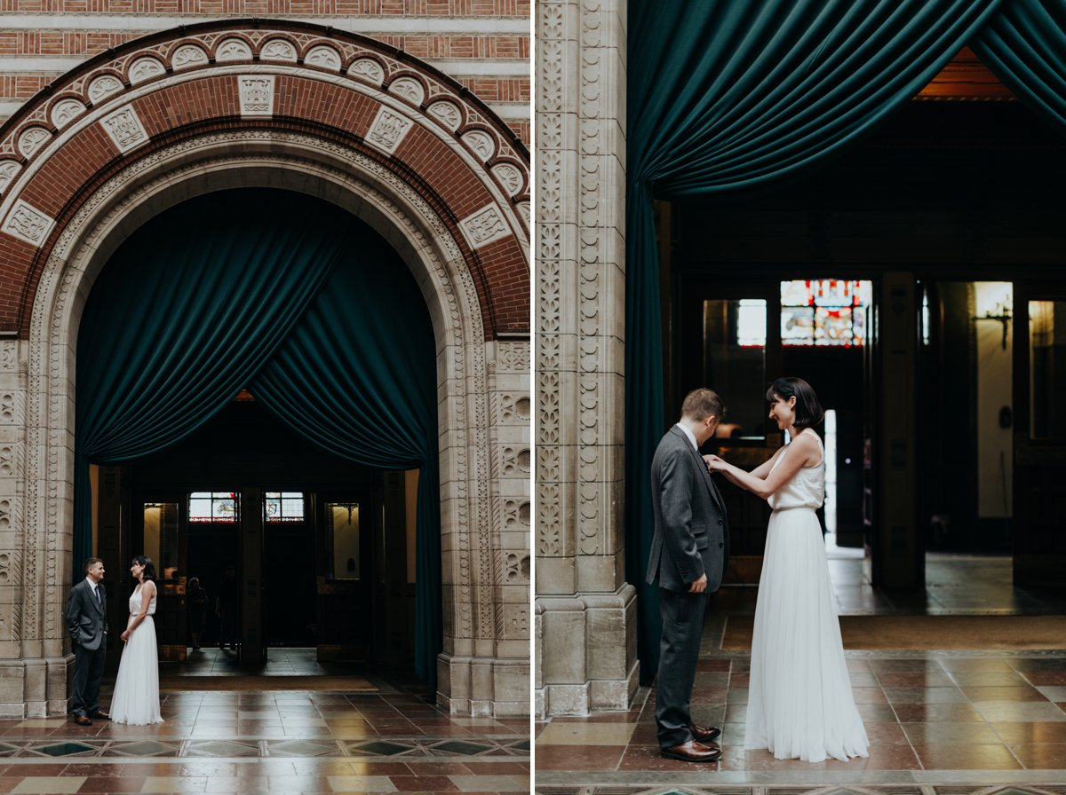 Louise & Fitan Wedding Copenhagen City Hall 1