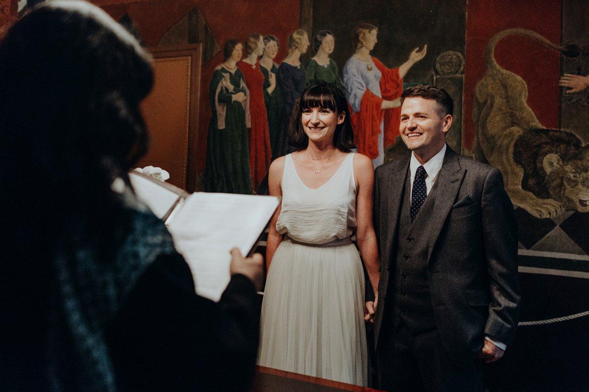 Louise & Fitan Wedding Copenhagen City Hall 7