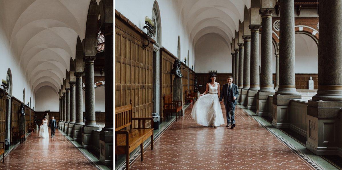 Louise & Fitan Wedding Copenhagen City Hall 11