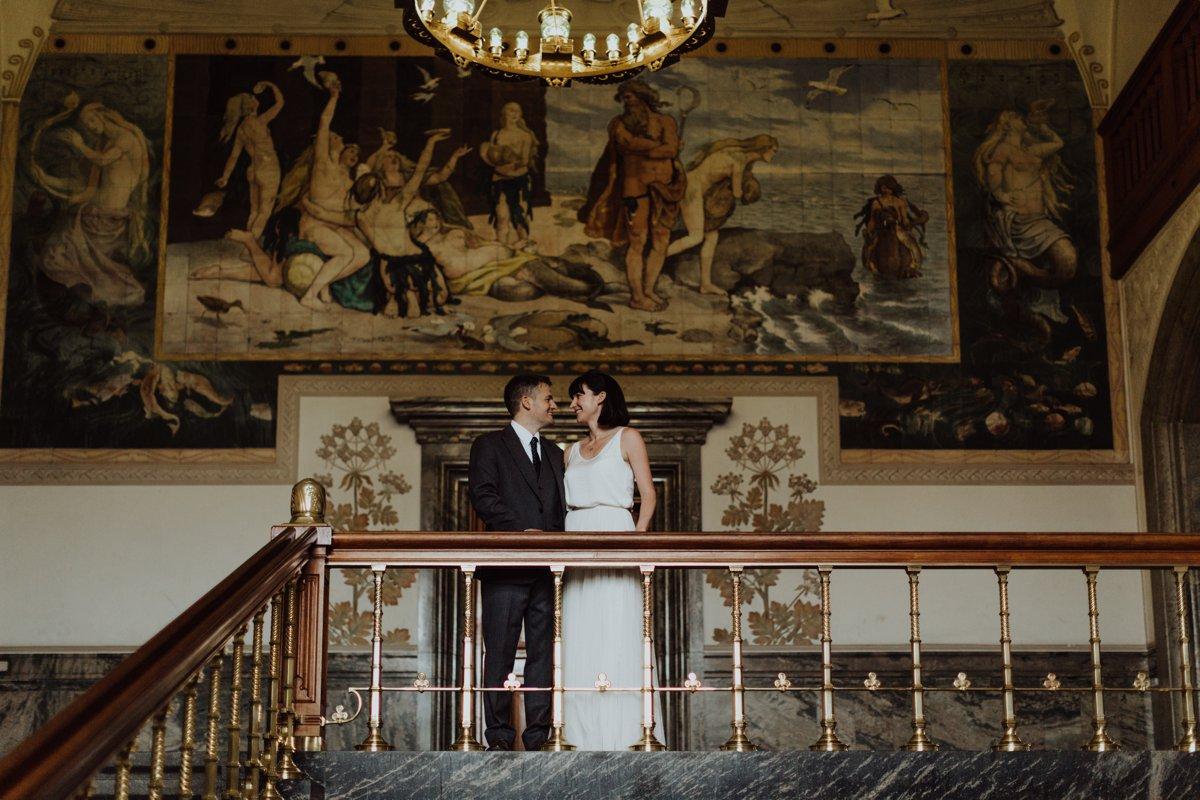 Louise & Fitan Wedding Copenhagen City Hall 15
