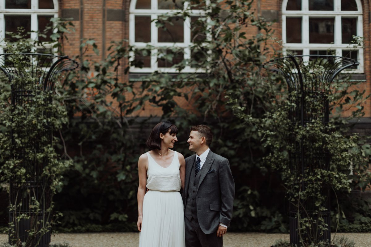 Louise & Fitan Elopenent Wedding Copenhagen City Hall 3