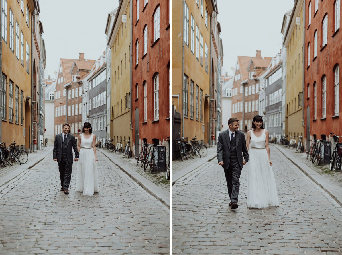 Louise & Fitan Elopenent Wedding Copenhagen City Hall 9