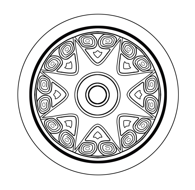 outline of disk 01
