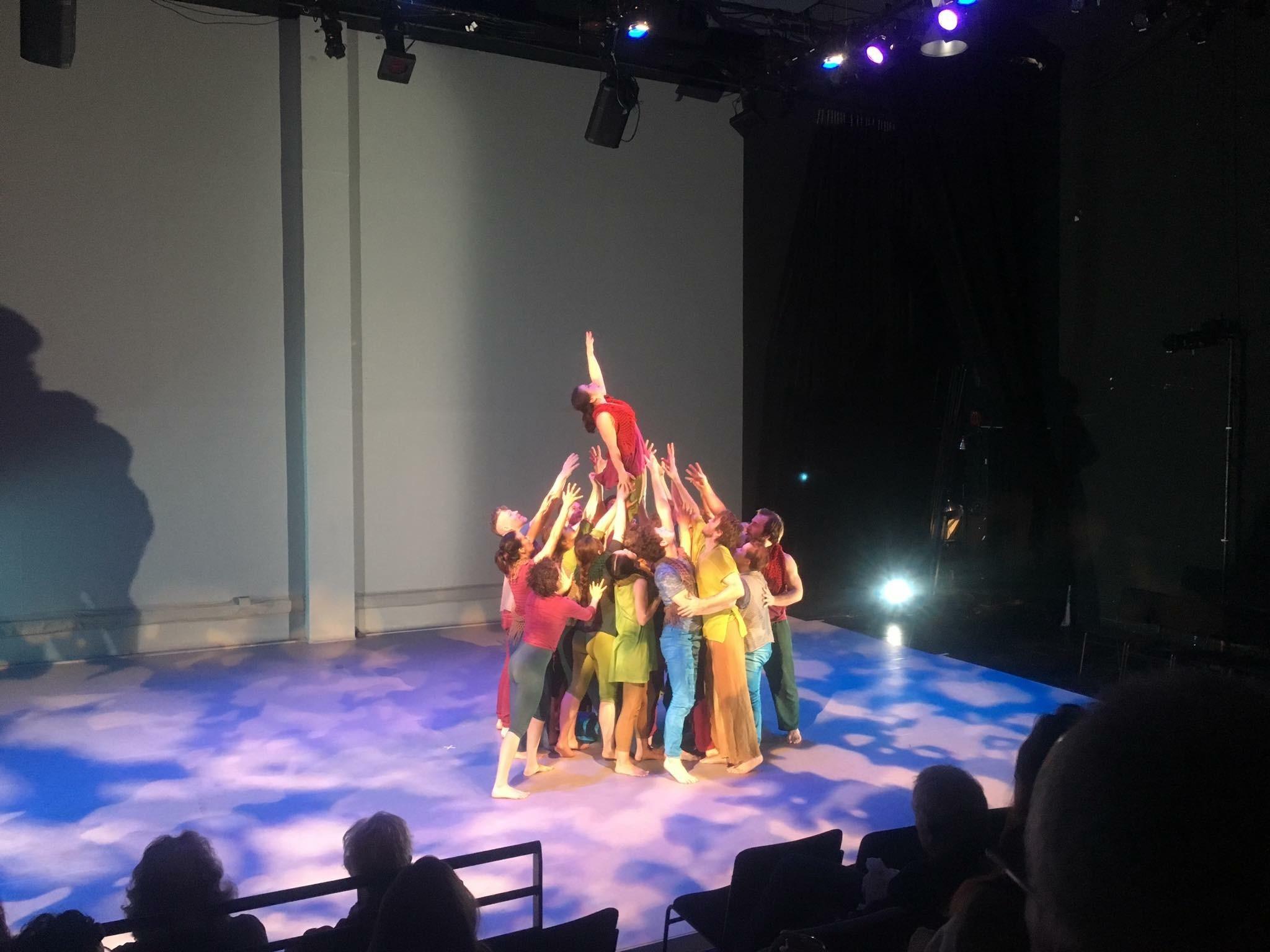 Final Pose of BABEL, off-Broadway 2017