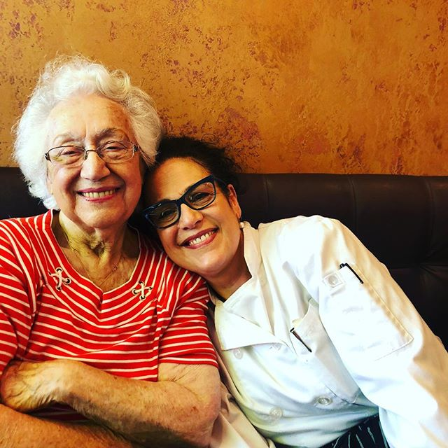"""""""Me and Mom""""At Bella's Café grand reopening..... My mom came to see me today cheering me on. My biggest supporter. She taught me So much Come join us for breakfast lunch and brunch...."""