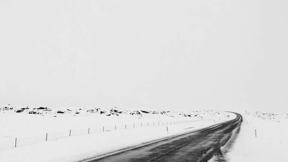 Pure whiteness along the Ring Road