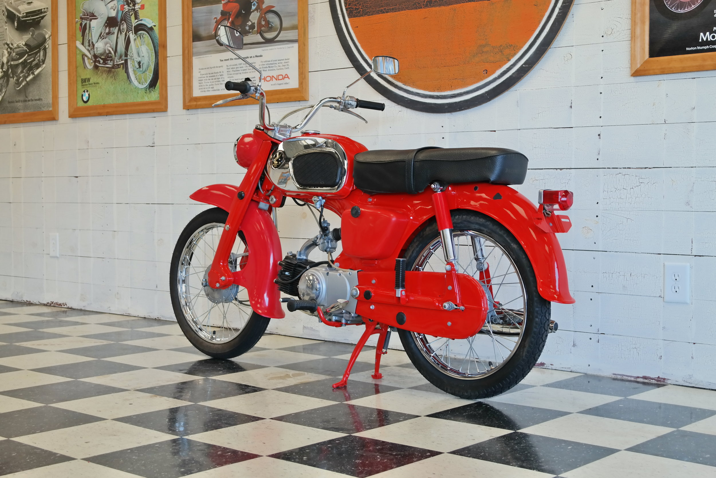 Vintage Supply - Honda CA200 — French and Sons Motorcycles