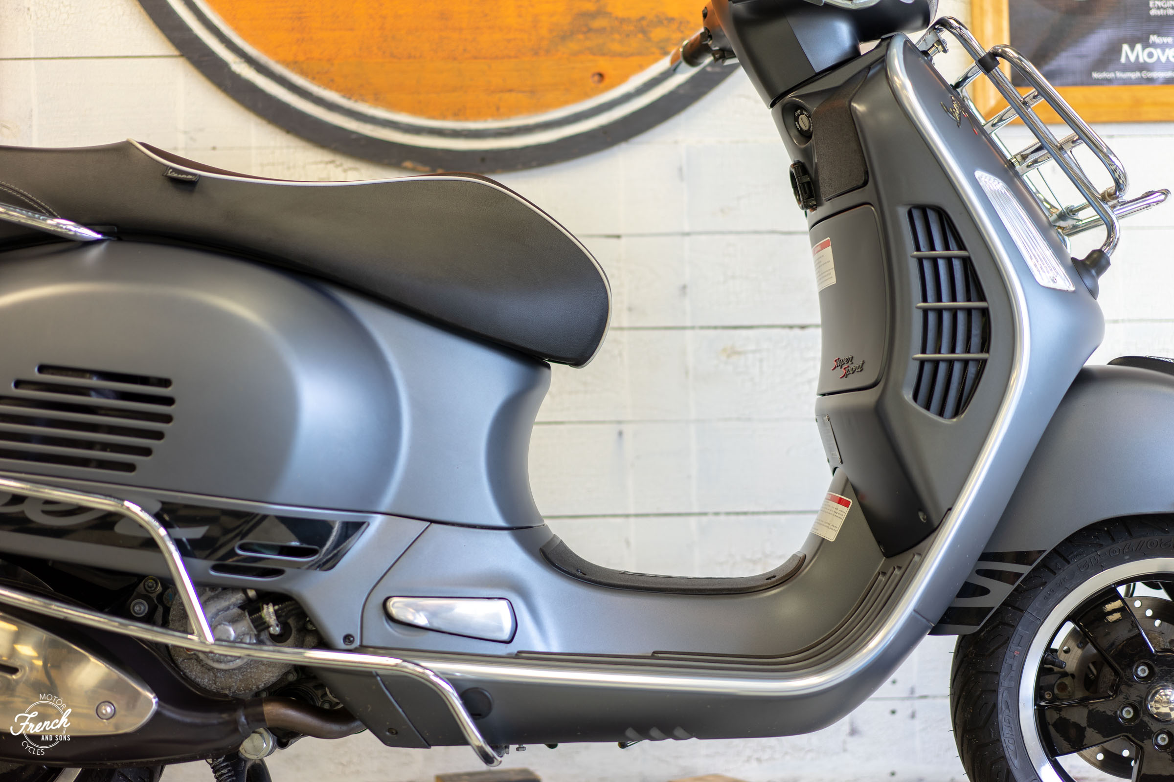 2017 Vespa GTS300 Super Sport — French and Sons Motorcycles