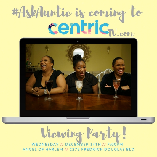 Our favorite ladies celebrating their new home on Centric! Wednesday Dec 14th 7pm @ Angel of Harlem. 🎉