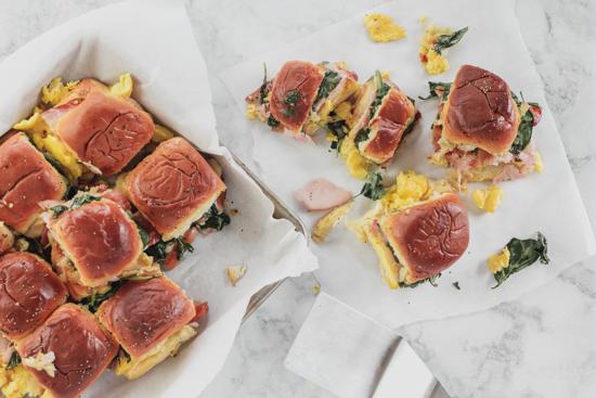 Breakfast Sandwich Casserole