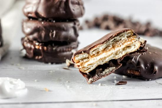 Chocolate Peanut Butter Marshmallow Treats