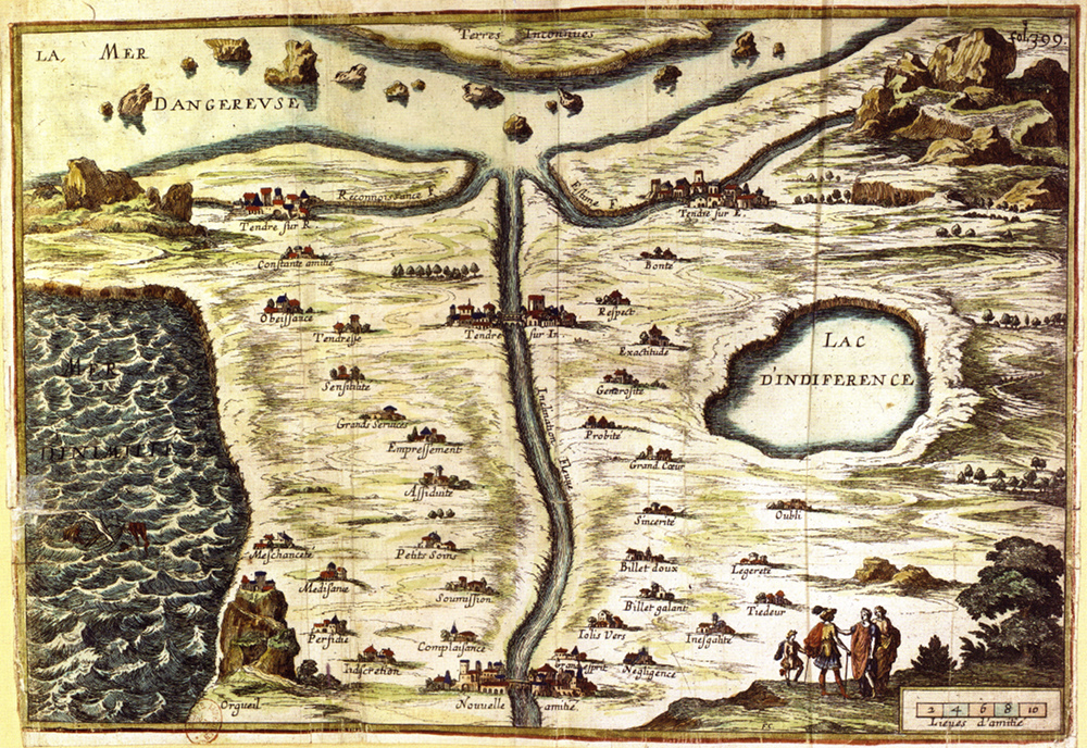 "Carte de Tendre (""Map of Tendre"")"