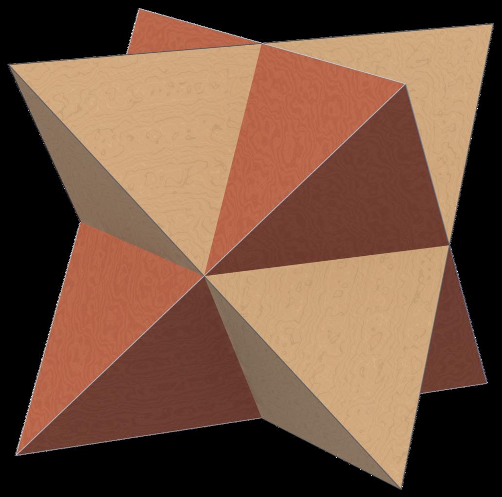 Dual Compound Tetrahedron