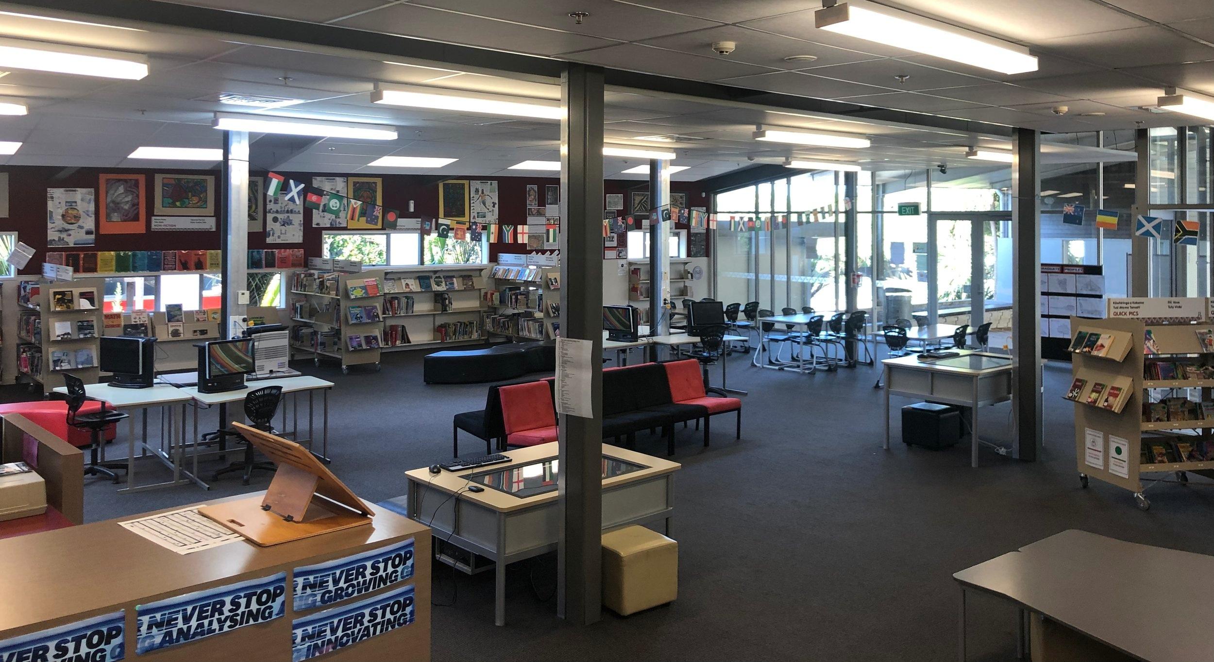 Kia Aroha College Library & Information Centre