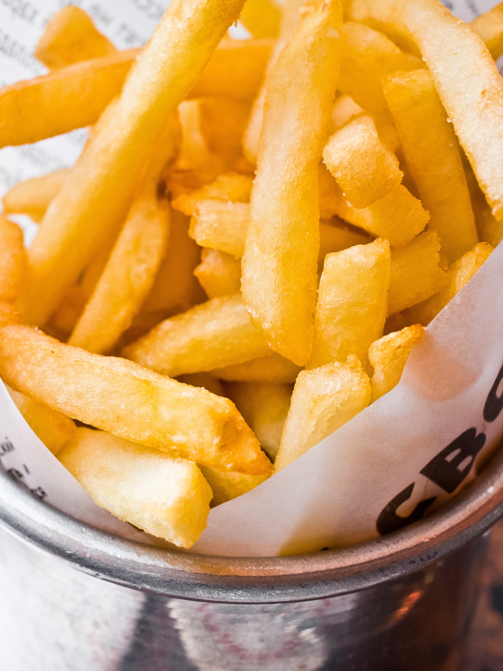 All of the french fries you can handle