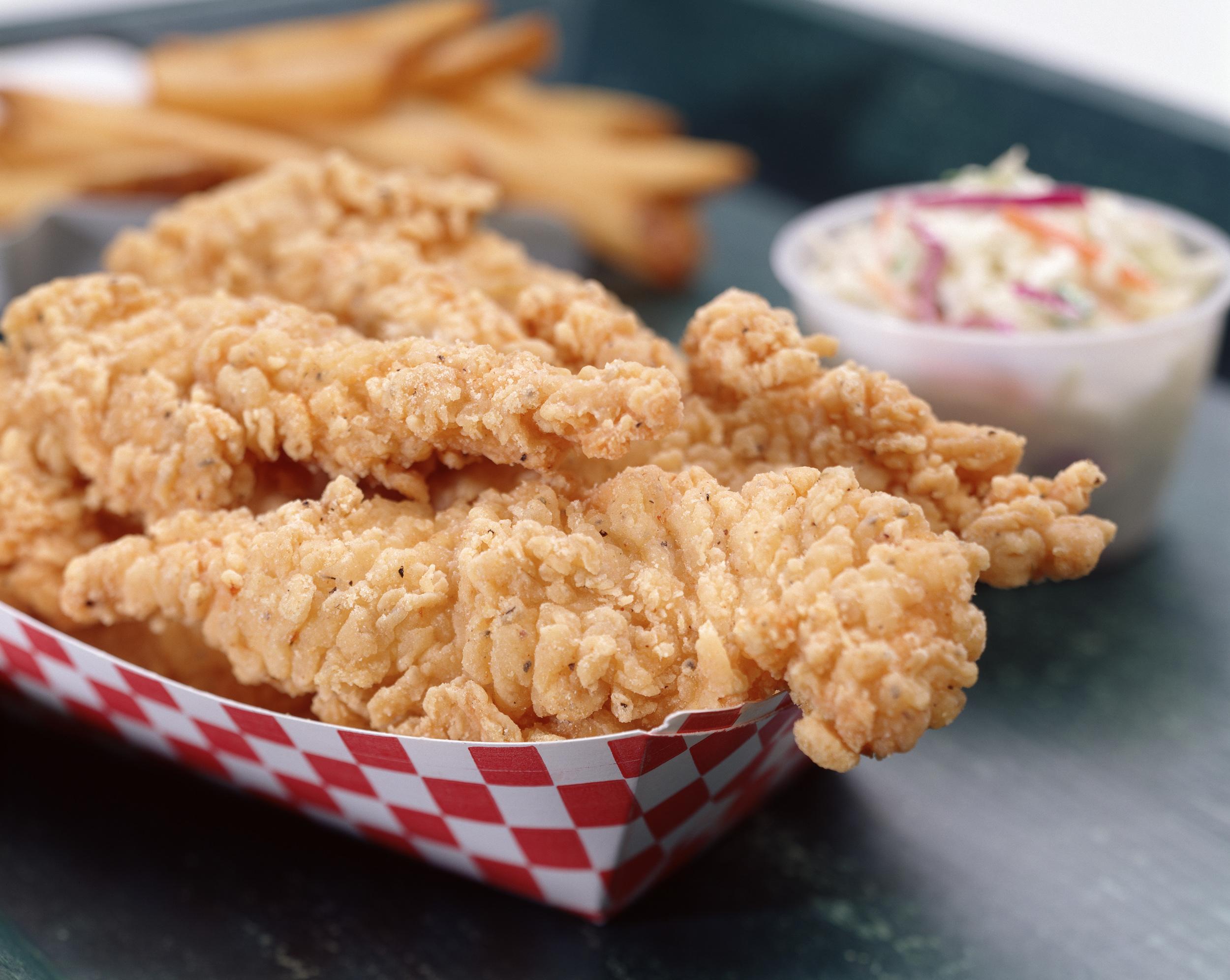 3,000 orders of chicken tenders expected